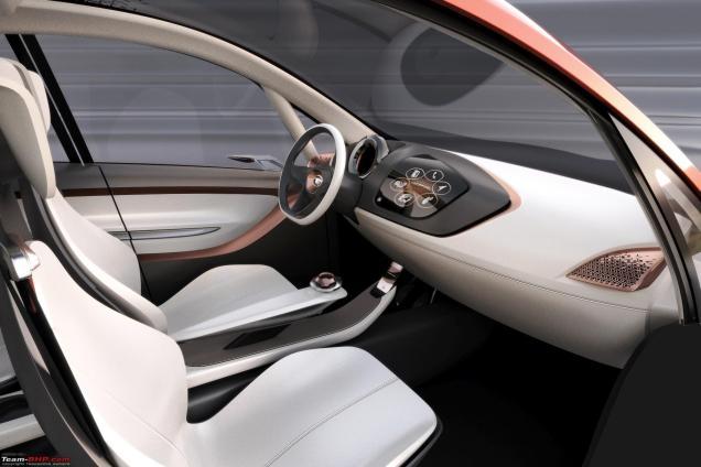 Tata Motors Megapixel concept car. Image courtesy of Tata Motors.