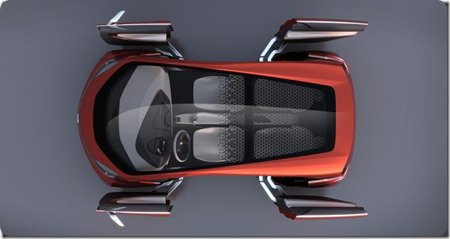 Tata Megapixel from above - doors open