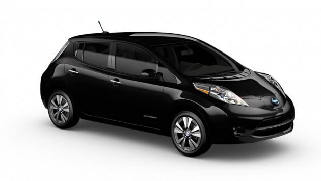 2014 Nissan Leaf black