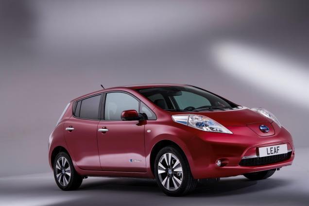 2014 Nissan LEAF. Image courtesy of Nissan.