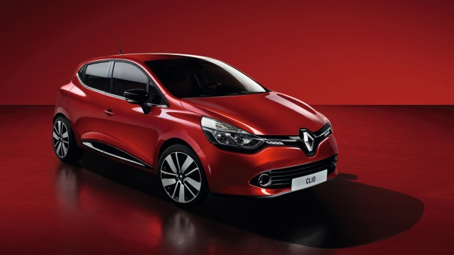 Renault Clio. Image courtesy of Renault.