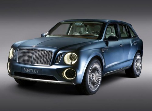 Bentley Motor Cars 2017 SUV Concept Plug-in Hybrid Electric Vehicle (PHEV). Image by Bentley.