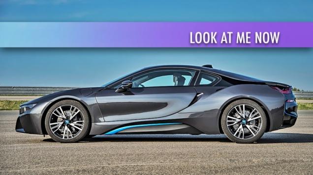 Electric Vehicles. EV Sales. 2013 i8 Hybrid EV by BMW. Image by BMW
