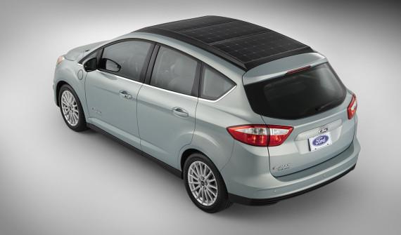Ford C Max Energi Solar Concept