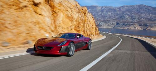 EV Central. EV Sales. Rimac One concept car.
