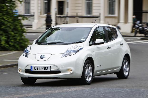 EV Sales. EV Central. 2013 European Nissan Leaf.