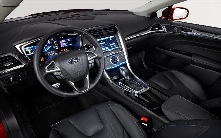2014 Ford Fusion Energi dashboard