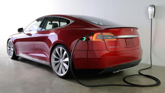 EV central. EV Sales. Tesla Model S. Image courtesy of Tesla Motors