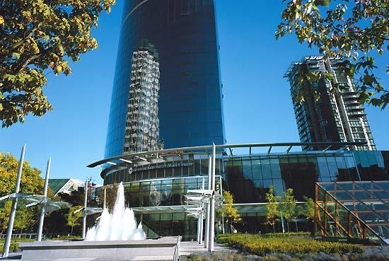 Sheraton Wall Centre, Vancouver, BC