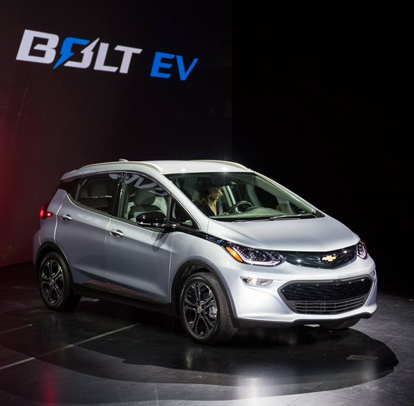 2017 Bolt EV. © GM Corp